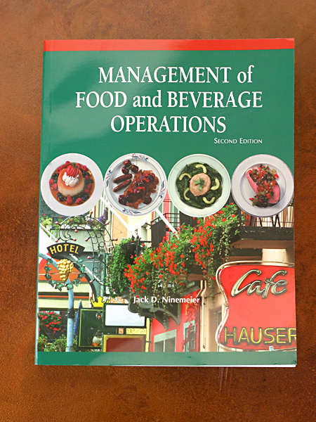 Management Food and Beverage Operations