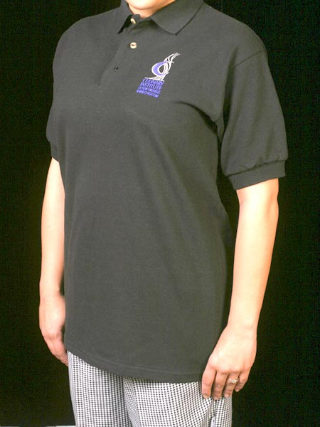 Black Golf Polo Shirt